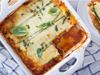 image of A vegetable-friendly lasagne