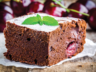 image of Cherry brownie
